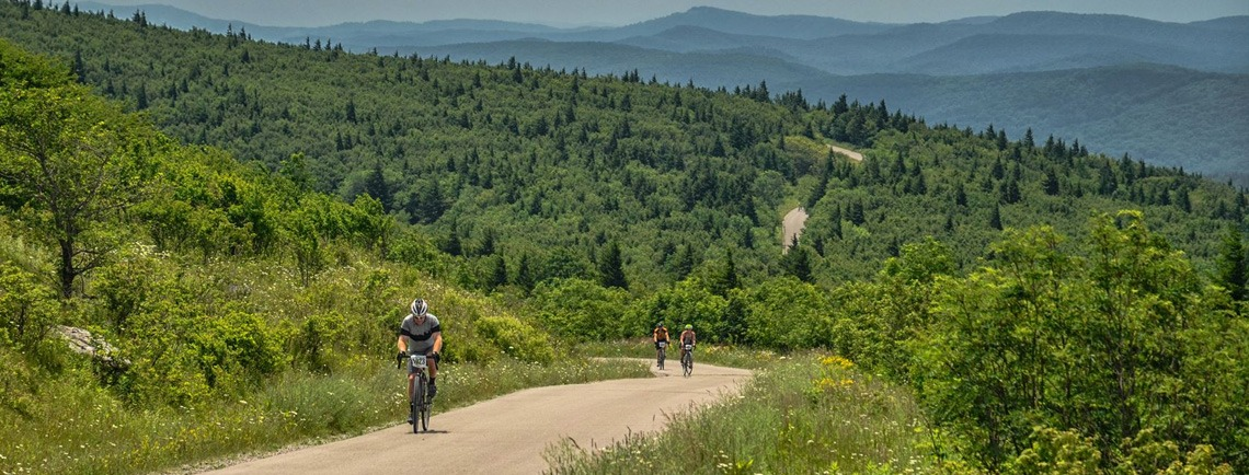 Gravel Bike Race at Spruce Knob