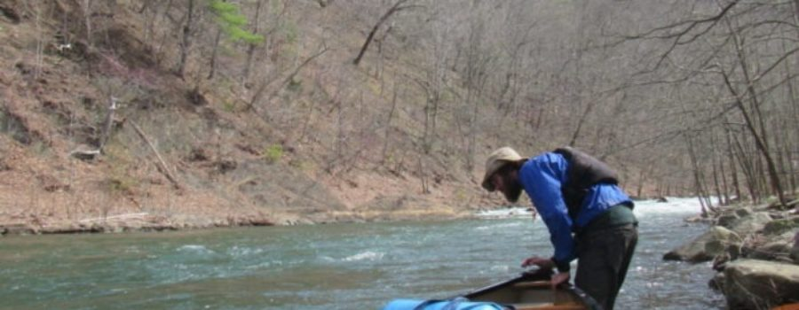 Paddling the South Branch of the Potomac